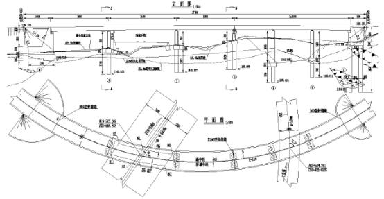 随着高等级公路建设的发展以及城市立交桥建设的需要,预应力混凝土弯箱梁桥以其经济、美观、实用的特点在我国的桥梁建设中己经被广泛的采用。本文结合工程实例,介绍了现有小半径弯箱梁的主要计算方法,并分析其各自的特点,着重分析了梁格法的箱梁梁格模型建 梁格法在弯箱梁桥中的应用 孙海涛 摘要:随着高等级公路建设的发展以及城市立交桥建设的需要,预应力混凝土弯箱梁桥以其经济、美观、实用的特点在我国的桥梁建设中己经被广泛的采用。本文结合工程实例,介绍了现有小半径弯箱梁的主要计算方法,并分析其各自的特点,着重分析了梁格法的箱